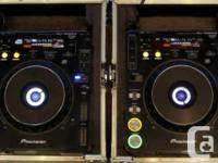 PIONEER CDJ'S 1000 MK2 IN GOOD CONDITION! $1200 FOR THE