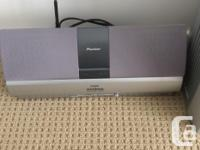 Excellent 200W amplifier with tuner and DVD player.