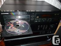 Hi, this is a Double Tray CD Player that looks great,
