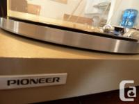 This is a made in Japan, Pioneer PL-514 belt driven