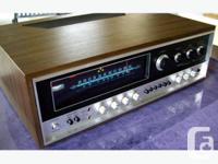 Very nice example of mid 70's vintage stereo gear