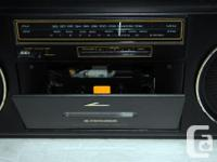 Pioneer SK-200 Vintage Boombox Radio Cassette Very rare