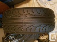 Single p zero corsa tire. Was used for about a week as