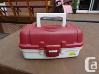Plano Single Tray Fishing Box - Never Used - Like New.