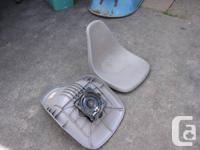 One boat seat for small craft - has swivel base - $10