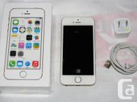 . Flawless Gold opened 16gb iPhone Fives. This is the