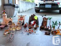We have 6 Playmobil sets worth over $250 as well as are