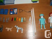 Clean! all part in mint condition! Playmobil Animal Vet