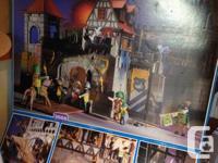 Playmobil Lion Empire Castle. Castle structure is