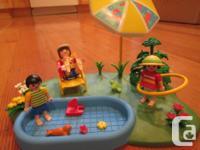 Create a family backyard with a pool, plenty of pool