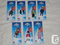 These PLAYMOBIL Keychains from the 2014 Series are