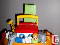 * Incomplete* Playmobil Noah's Ark. Hurry to help the
