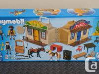New Unopened in Box - Playmobil My Take Along Western