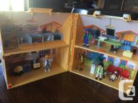 Play Mobil pet clinic complete set well loved for sale.