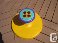Toy can spin fast or slow Age over 18 months and up