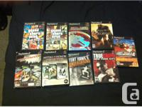 Hi I have the following PlayStation 2 (PS2) games for