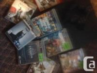Controller, Cords, and Ps3 games will all be sold
