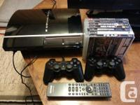 CECHHO1 - 40GB - 2 CONTROLLERS + 1 CHARGER CORD - SONY