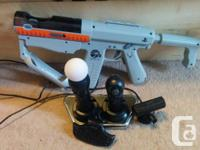 Selling Slightly used Playstation Move with energizer
