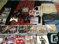Big ps3 bundle for sale; includes everything in pics