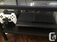 Great condition 250 GB PS3, gently used. Comes with box