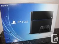 I have a Sony PlayStation 4 console for sale, with each