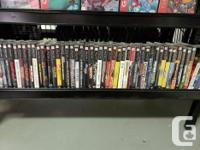At Hang & Play Video Games we have a wide Selection of