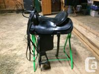 """I am selling my 16"""" western pleasure saddle as well as"""