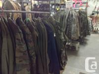 The 2nd Hand & Military store in Merville just got in a