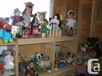 nice collection on stuffed toys - #1 black Scotty Dog -