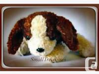 This Adorable and No Longer Made Avon Stuffed Animal