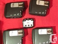 I am selling 4 Pocketwizard Flex TT5 and AC3 for Nikon.