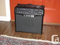 As brand-new Line 6 Spider IV 15 watt amp. used twice,