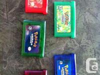 Pokemon games made in China for Nintendo Gameboy