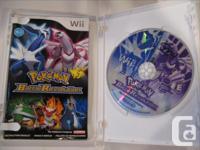 I have my Pokémon Battle Revolution for Nintendo Wii.