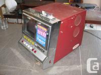 Selling my vintage Blitz Mega Double poker machine.