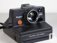 1.Polaroid Landcamera Pronto(use sx-70
