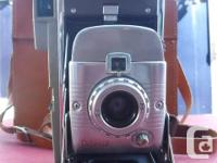 For sale is a Polaroid Land Camera Model 80 as shown in