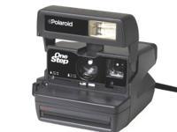 Polaroid One Step Auto Focus Camera  Excellent