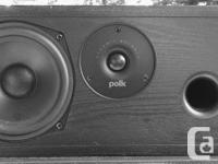 Polk Audio CSi20 center speaker in good condition.