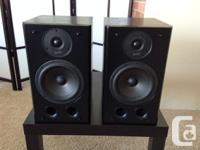 Polk Audio RT5 Bookshelf Speakers (black) - Great