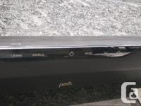 Polk surroundbar 6500BT with wireless subwoofer. This
