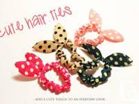 cute hair ties buy more, save more: 1 - $1 3 - $2 6 -