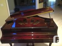 Beautiful baby grand in excellent condition, 10 years