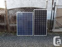 ??WHY ARE THE DIMENSIONS OF POLY SOLAR PANELS LARGER