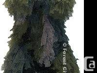 Firepower Polyester Leaf Ghillie Suits    Camouflage
