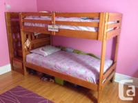 Ponderosa Stairs Bunk Bed, consisting of stairs (with