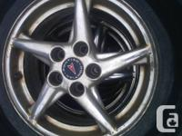 Tires and rims for a Pontiac Grand Prix Winter and