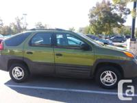 2001 Aztek, 4 dr, automatic, fully loaded except