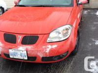 Make Pontiac Model G5 Year 2008 Colour REd kms 9800000